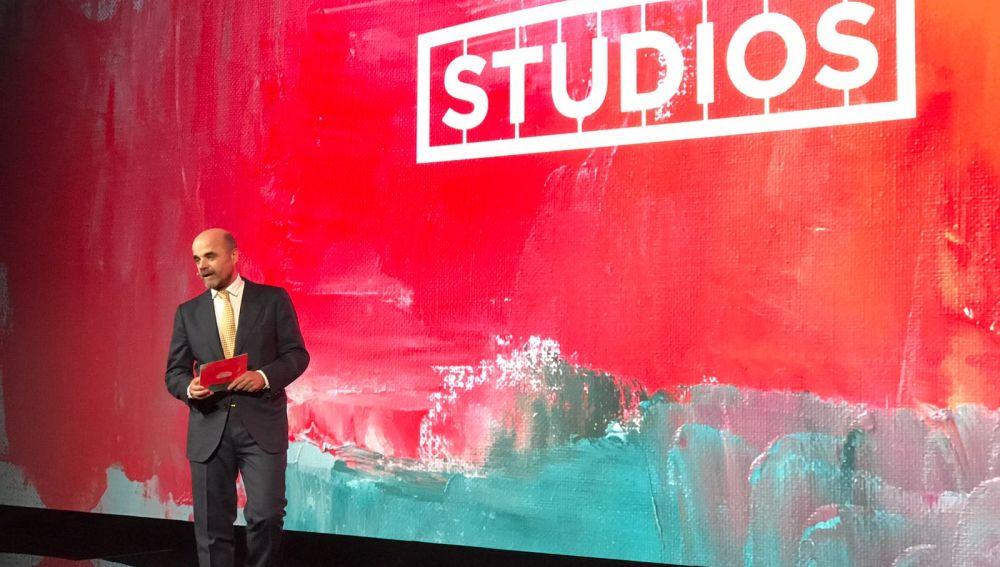 Ignacio Corrales, Director General de Atresmedia Studios.
