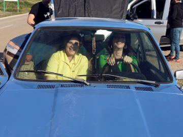 Así se rodó la escena en coche de 'Veneno'
